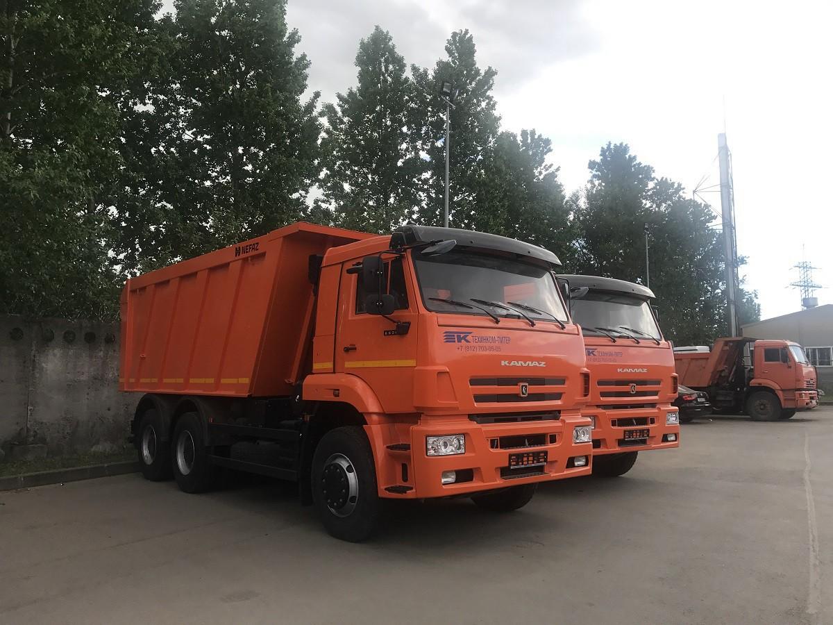Самосвал КАМАЗ 65115-776058-19 (L14)