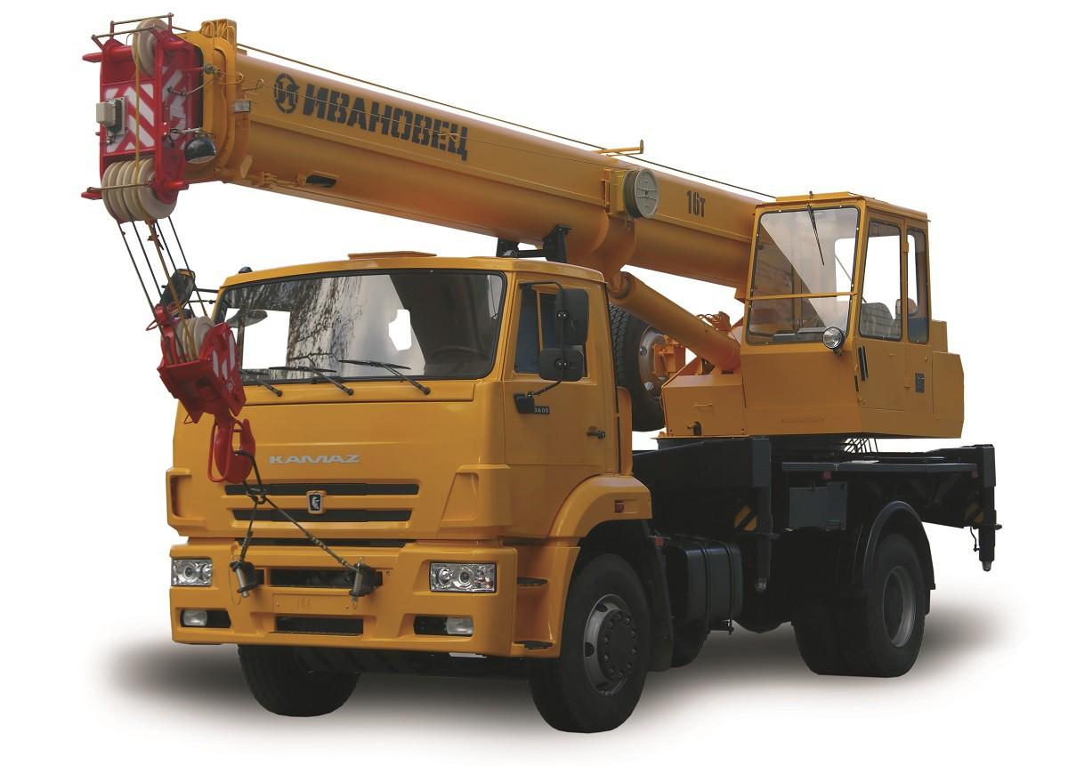 КС-35714К-3 «Ивановец» на шасси Камаз-53605