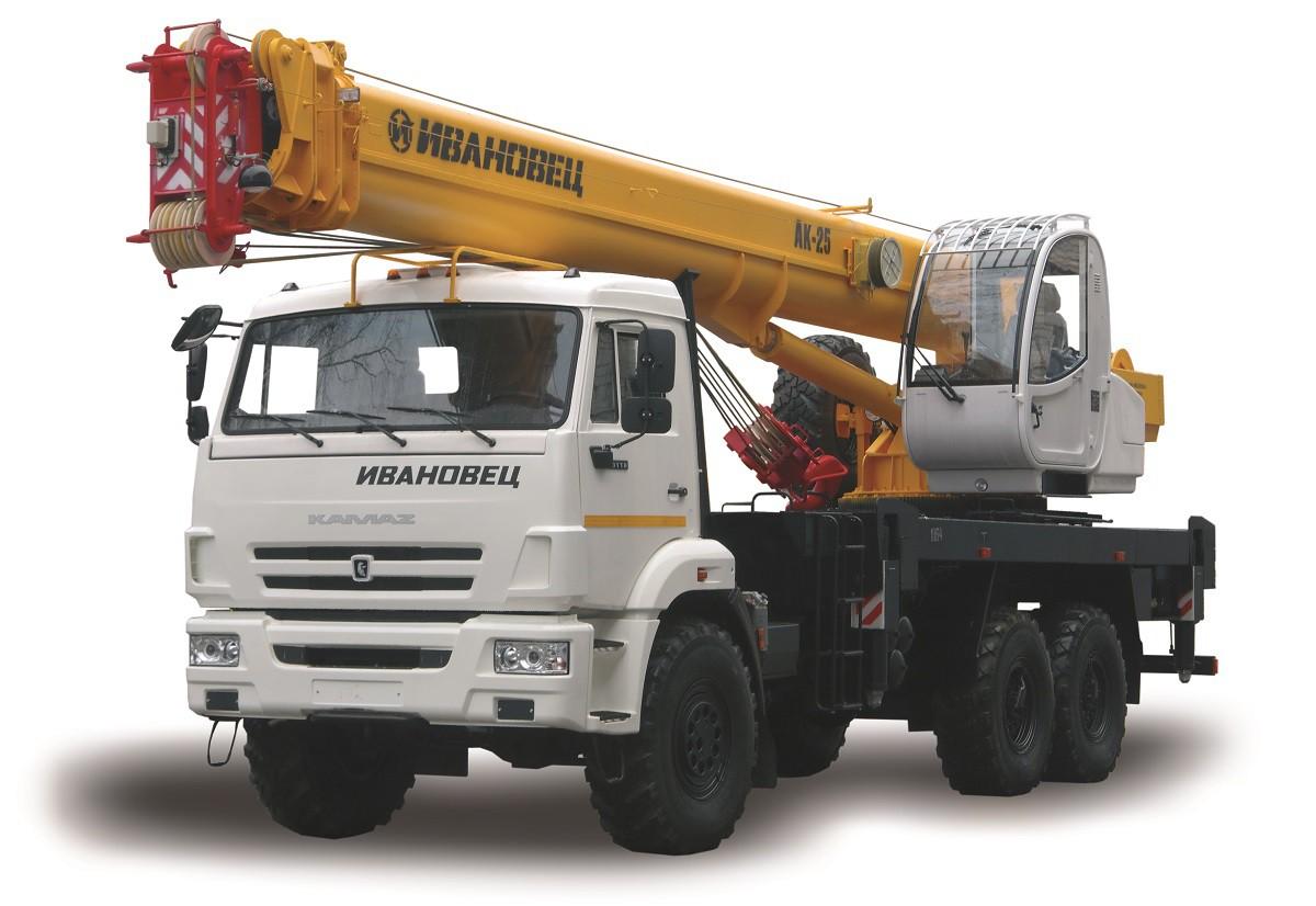 КС-45717К-3Р «Ивановец» на шасси Камаз-43118