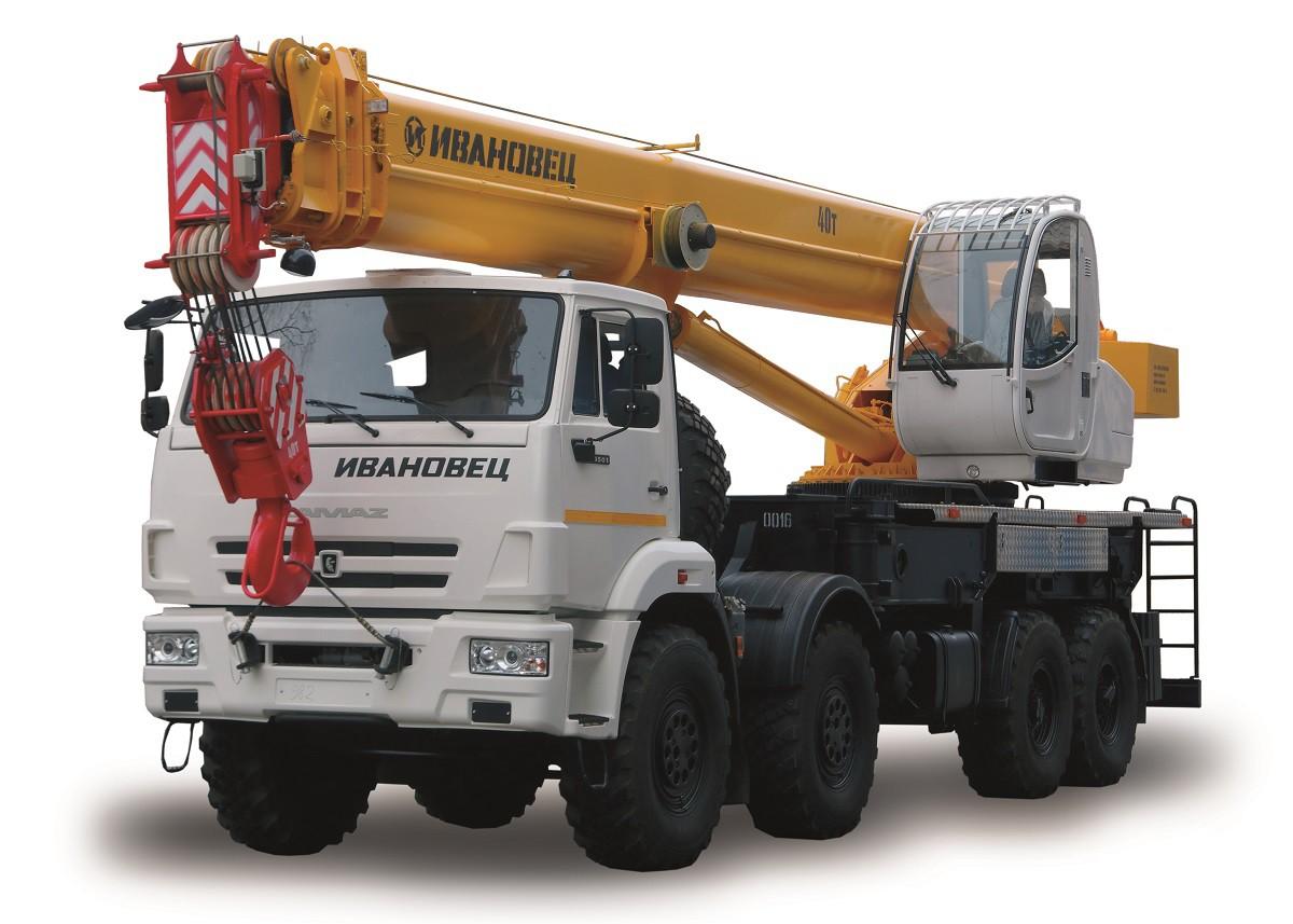 КС-65740-7 «Ивановец» на шасси Камаз-63501
