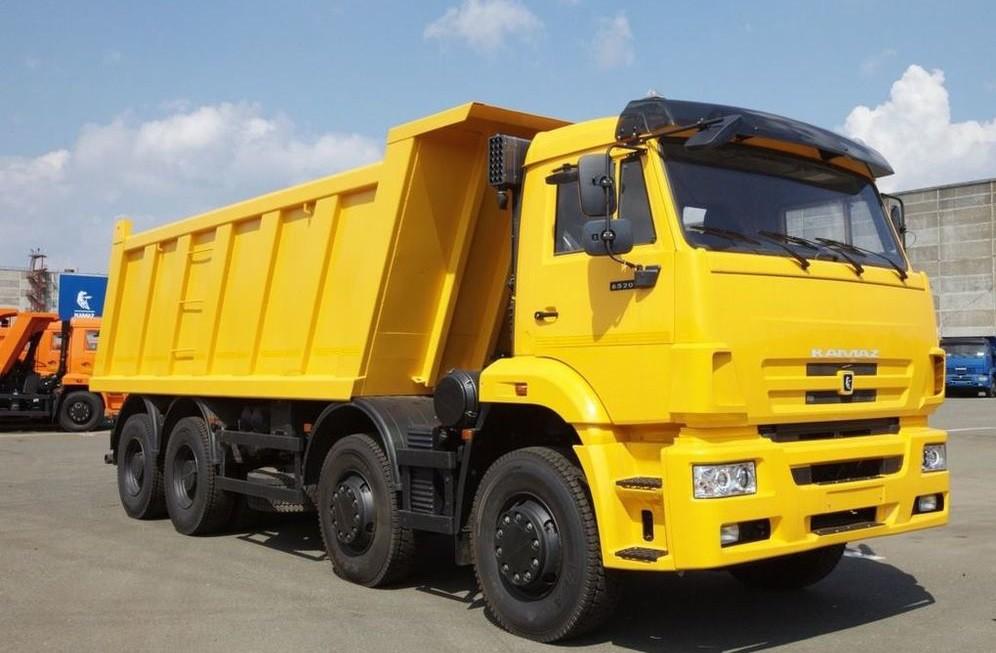 Самосвал КАМАЗ-65201