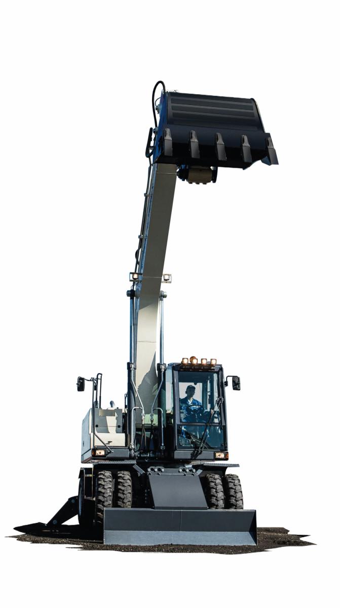 Колесный экскаватор RM-Terex WX 200