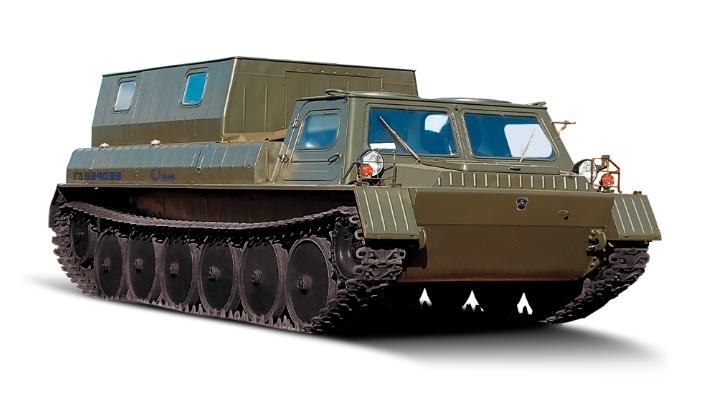 Гусеничный снегоболотоход RM-Terex ГАЗ-34039