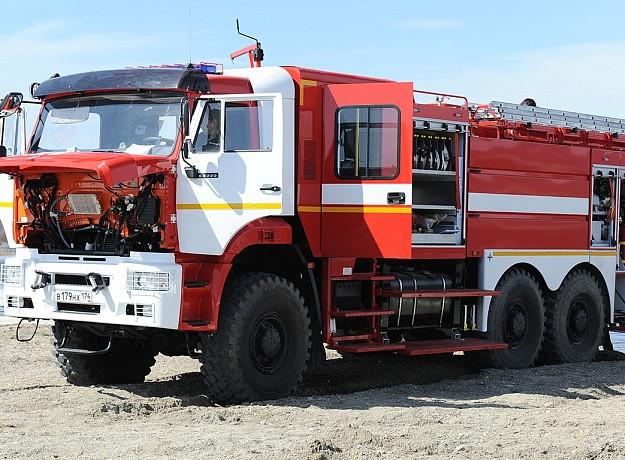 Автоцистерна пожарная UMG АЦ (АПТ) 7,5-40 (50; 70; 100) (43118)