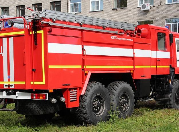 Автоцистерна пожарная UMG АЦ 3,7-40 (MAN TGM 15.340)