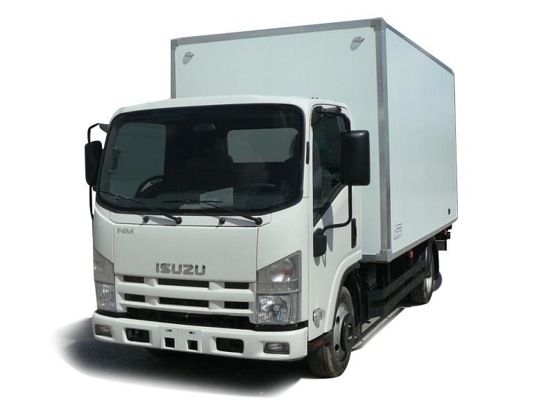 Промтоварный фургон ISUZU ELF 3.5