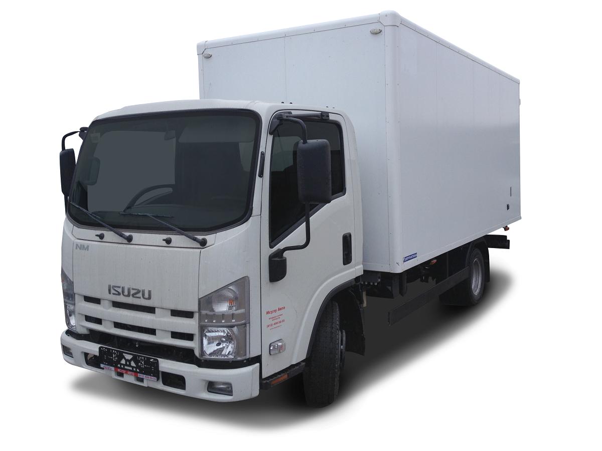 Изотермический фургон ISUZU ELF 3.5