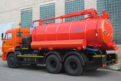 Машина коммунальная (илососная) КАМАЗ КО-530-01