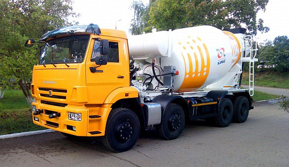 Автобетоносмеситель КАМАЗ 58140Z