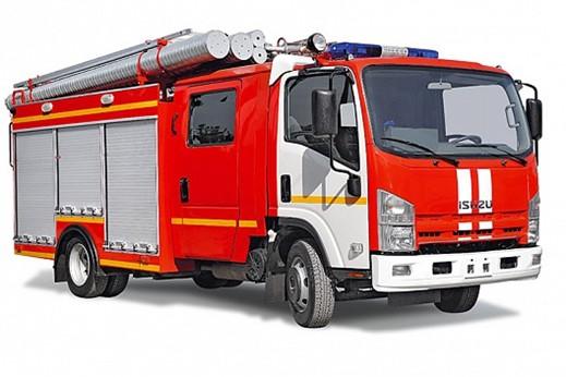 Пожарная автоцистерна ISUZU ELF 7.5