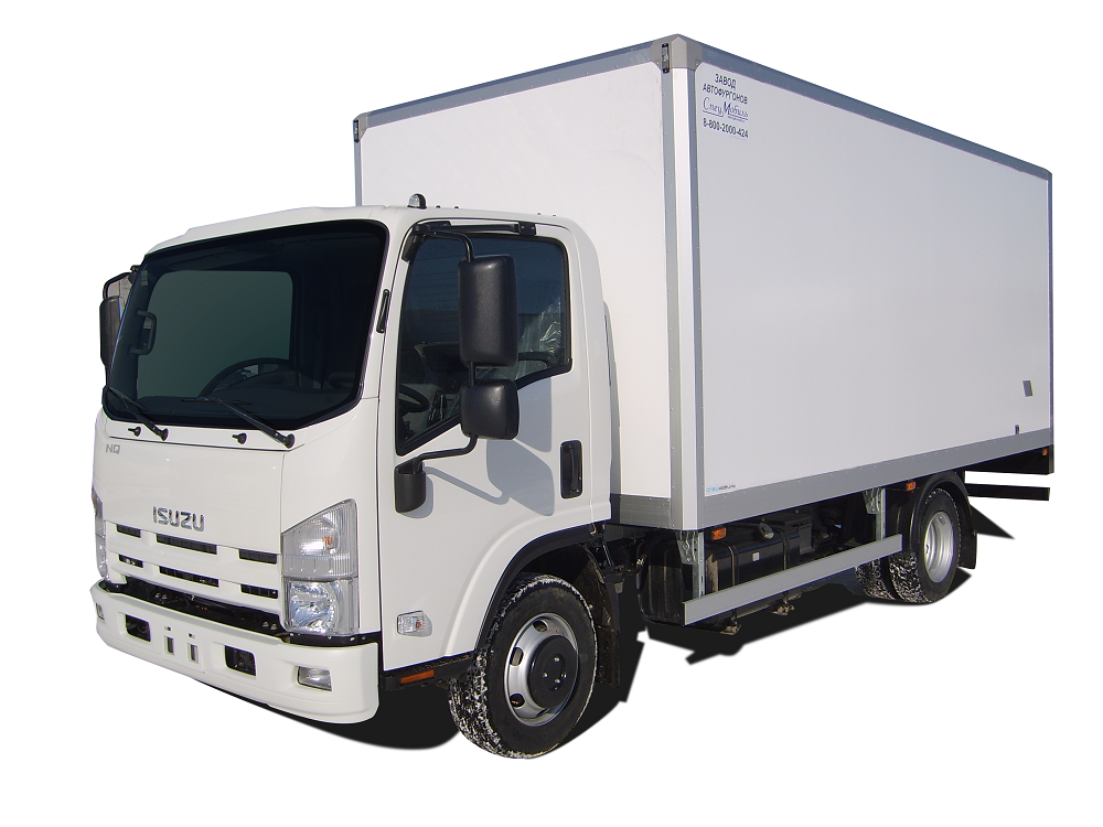 Изотермический фургон ISUZU ELF 9.5