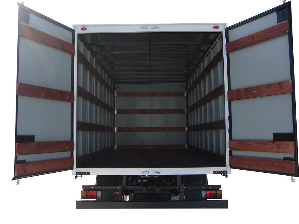 Промтоварный фургон ISUZU ELF 9.5