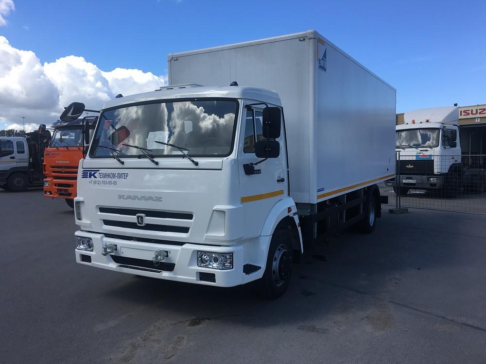 Изотермический фургон на базе шасси КАМАЗ 4308-3021-25