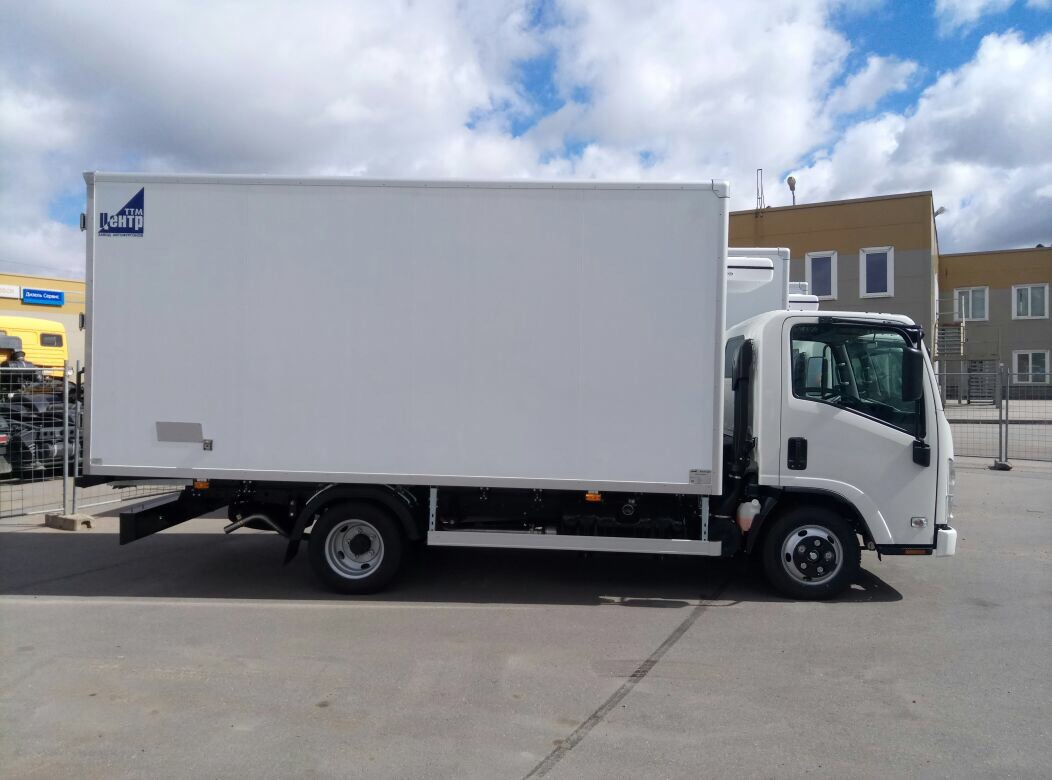 Фургон-тушевоз ISUZU NMR85H-415 8 евро паллет