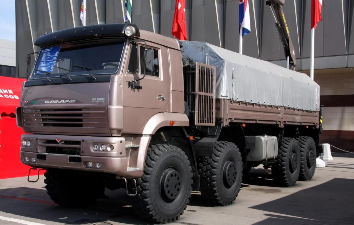 Бортовой автомобиль КАМАЗ-6560